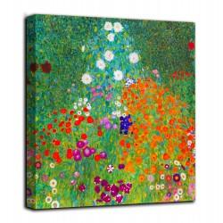 Quadro Giardino della fattoria - Klimt - stampa su tela canvas con o senza telaio