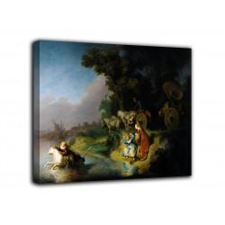 La peinture à L'enlèvement d'Europa - Rembrandt - impression sur toile avec ou sans cadre