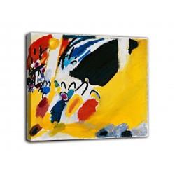 La pintura de Impresión III (Concierto) - Vassily Kandinsky - impresión en lienzo con o sin marco