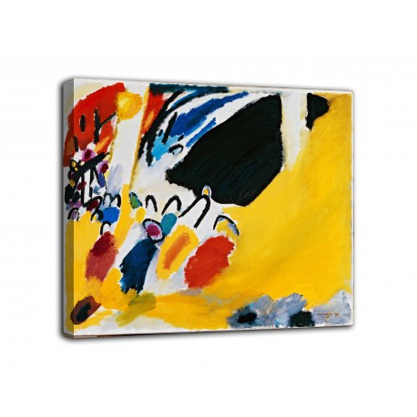 Painting Impression III (Concert) - Vassily Kandinsky - print on canvas with or without frame