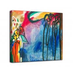 Le cadre de l'Improvisation 19 - Vassily Kandinsky - impression sur toile avec ou sans cadre