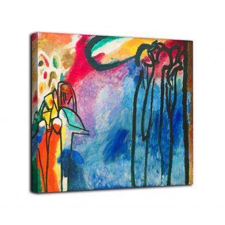 The framework Improvisation 19 - Vassily Kandinsky - print on canvas with or without frame