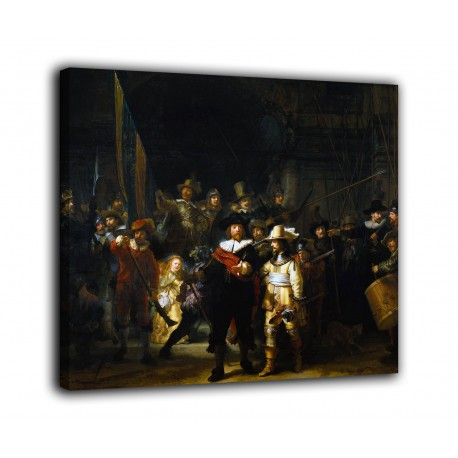 Painting The night watch - Rembrandt - print on canvas with or without frame