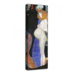 Bild hoffnung I - Gustav Klimt - druck auf leinwand, leinwand mit oder ohne rahmen