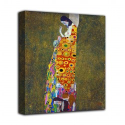 Quadro La speranza II - Gustav Klimt - stampa su tela canvas con o senza telaio