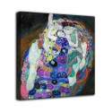 The framework of The virgin - Gustav Klimt - print on canvas with or without frame