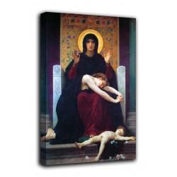 La imagen de la Virgen de La consolación - William-Adolphe Bouguereau - impresión en lienzo con o sin marco