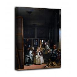 """Bild """"Las Meninas"""" - Diego Velazquez - druck auf leinwand, leinwand mit oder ohne rahmen"""