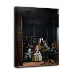 Picture Las Meninas - Diego Velázquez - print on canvas with or without frame