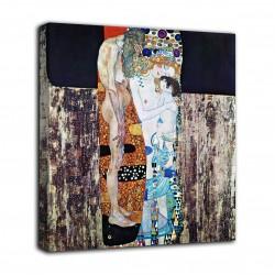 Quadro Le tre età della donna - Gustav Klimt - stampa su tela canvas con o senza telaio