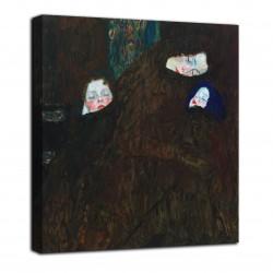 L'image d'une Mère avec deux enfants - Gustav Klimt - impression sur toile avec ou sans cadre
