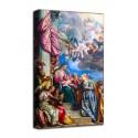 Quadro Matrimonio mistico di Santa Caterina d'Alessandria - Veronese- stampa su tela canvas con o senza telaio