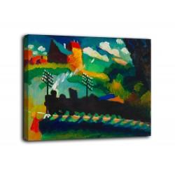Le cadre de Murnau - Kandinsky - impression sur toile avec ou sans cadre