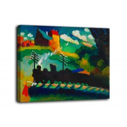Rahmen Murnau - Vassily Kandinsky - druck auf leinwand, leinwand mit oder ohne rahmen