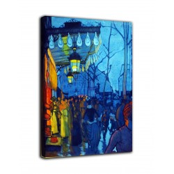 Picture Avenue de Clichy - Louis Emile Anquetin - print on canvas with or without frame