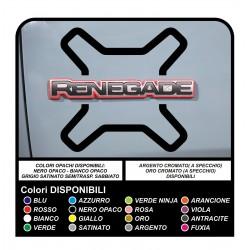 stickers renegade for door stickers jeep renegade for written on door NEW