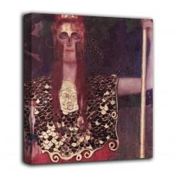 Le cadre de Pallas Athena - Gustav Klimt - impression sur toile avec ou sans cadre