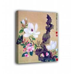 Quadro Pittura di album di foglie - Chen Hongshou - stampa su tela canvas con o senza telaio