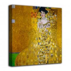 Peinture de Portrait d'Adele Bloch-Bauer - Gustav Klimt - impression sur toile avec ou sans cadre