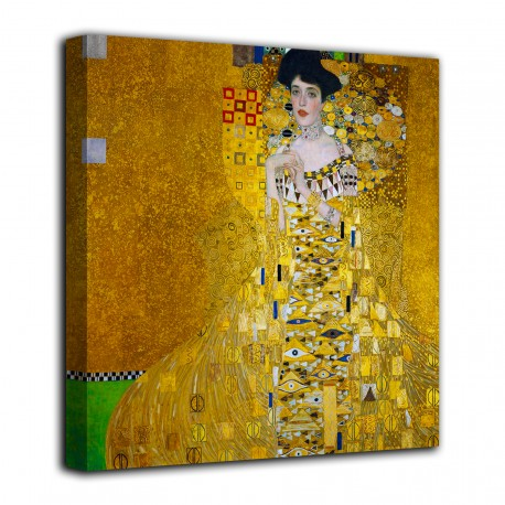 Pintura de Retrato de Adele Bloch-Bauer - Gustav Klimt - impresión en lienzo con o sin marco
