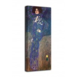 Framework the Portrait of Emilie Flöge - Gustav Klimt - print on canvas with or without frame