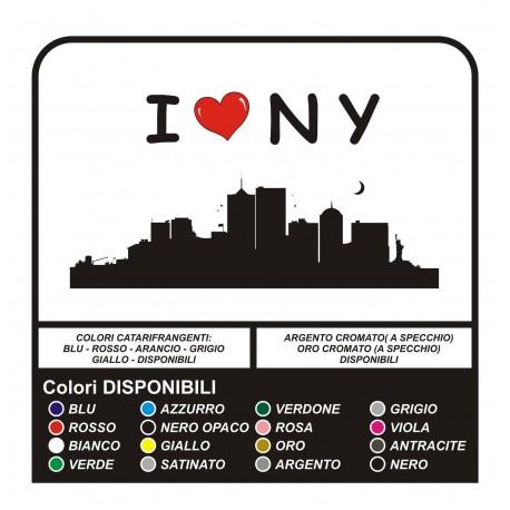 Wall stickers I LOVE New York for WALL Manhattan NY Brooklyn - Wall stickers