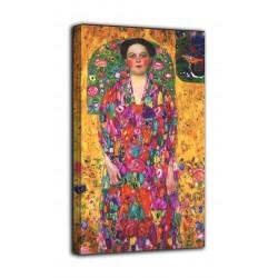 Cadre le Portrait de Eugenia primavesi, journaliste - Gustav Klimt - impression sur toile avec ou sans cadre