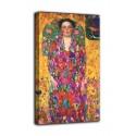 Marco el Retrato de Eugenia primavesi, el periodista - Gustav Klimt - impresión en lienzo con o sin marco