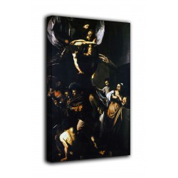 Rahmen Sieben werke der Barmherzigkeit - Caravaggio - druck auf leinwand, leinwand mit oder ohne rahmen