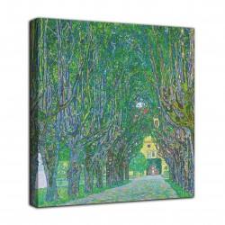 L'image de l'Avenue du château de Kammer - Gustav Klimt - impression sur toile avec ou sans cadre