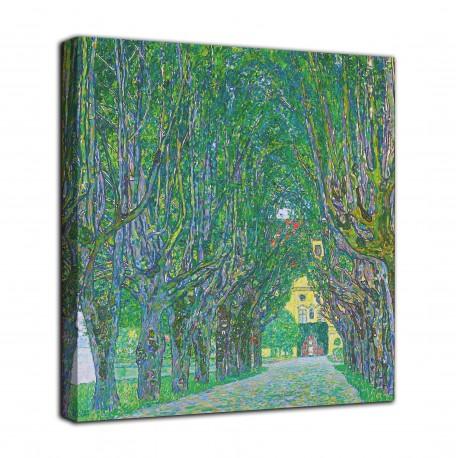 Rahmen Allee zum schloss Kammer - Gustav Klimt - druck auf leinwand, leinwand mit oder ohne rahmen