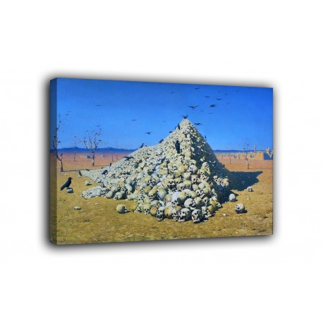 Picture The Apotheosis of war - Vasily Vereshchagin - print on canvas with or without frame