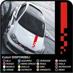 Autocollants capot audi, bmw, alfa romeo, fiat, seat golf audi A1 A3 A4 A5 A6 A7 A8 T1 T3 A5 Q7 RS RS1 S1 S3 RS3 RS4 TT S3