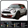 Stickers two-tone MINI COOPER S SIDE panels and BONNET mini cooper two-tone