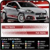 STICKERS SIDE FOR FIAT GRANDE PUNTO ABARTH KIT SIDE