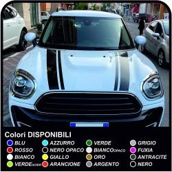 Aufkleber für mini cooper klebestreifen mini cooper Bonnet Stripes - bänder, selbstklebende motorhaube
