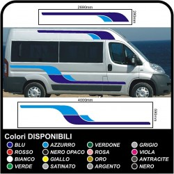 stickers for MOTORHOME graphics vinyl stickers decals stripes Set CAMPER VAN CARAVAN Motorhome - graphics 12