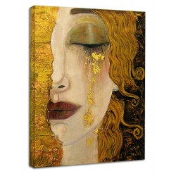 The framework Freyja's Golden Tears - Picture print on canvas with or without frame