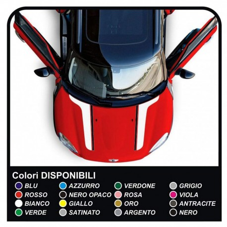 stickers Hood mini cooper MINI COOPER kit adhesive stripes bands hood COUNTRYMAN John Cooper the ONE with ALL the MODELS
