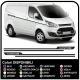 Adesivi TRANSIT M-SPORT Laterali Van grafiche furgone adesivi decalcomanie strisce ford transit custom e turneo