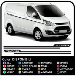 Aufkleber TRANSIT TOURNEO Seitliche Van grafiken, van aufkleber decals streifen ford transit custom turneo