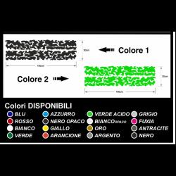 Aufkleber camouflage-Camouflage grafik militärischen bicolor