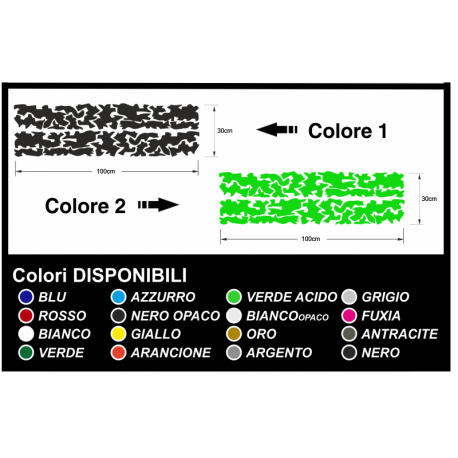 Stickers camouflage Camouflage graphics military two-tone