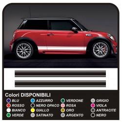 adhesive side MINI cooper graphics, mini stripes MINI COOPER S ONE JCW COUNTRYMAN ONE and OTHER MINI
