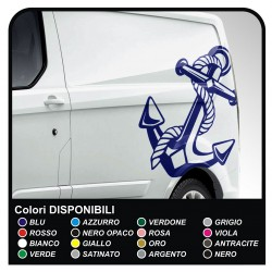 autocollants TRANSIT M-SPORT Side Van graphismes van décalcomanies rayures ford transit custom minibus et camping-car