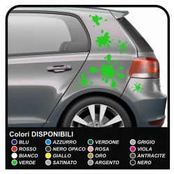 Adhesive strips RACING GOLF Stripes universal good for all auto - adhesive  vw golf