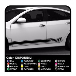 180cm Streifen Aufkleber Auto Sticker Seitliche Streifen Aufkleber Streifen Mega Grafic Srl