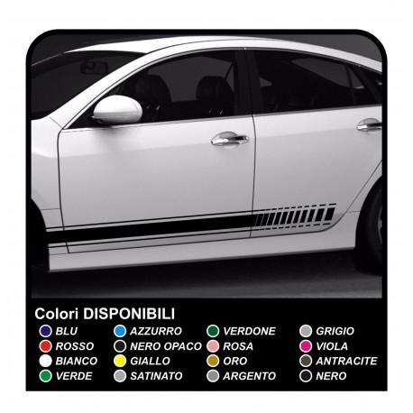 Stripe Sticker Audi Sticker Side for audi a1 a3 a4 Strips Adhesive Strips