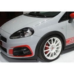 FULL KIT WITH STICKERS AND FOG LIGHTS FOR GRANDE PUNTO ABARTH SUPER SPORT BUMPER