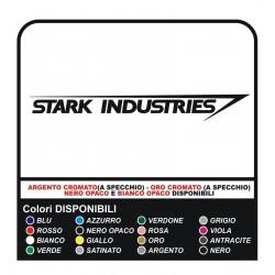 STARK INDUSTRIES (HOMBRE de HIERRO) PAR DE 100mm de Vinilo pegatinas calcomanías de ironman